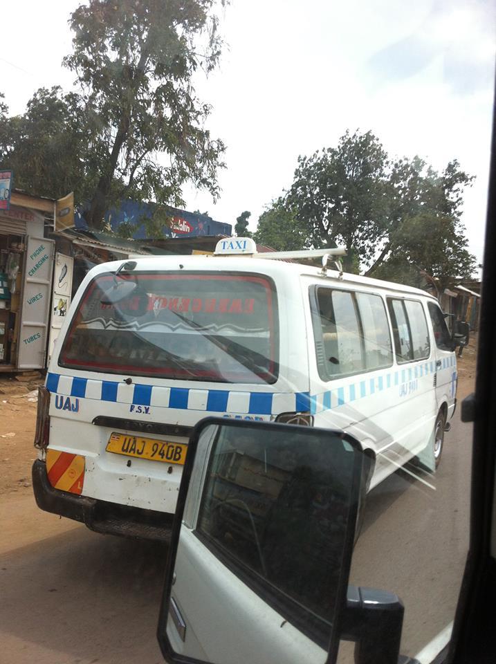 taxi ougandais
