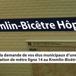 Métro Le Kremlin-Bicêtre Hopital